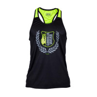 "Майка для бодибилдинга Gorilla Wear ""Lexington"" Tank Top, черно-зеленая"