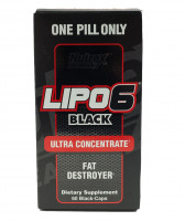 Жиросжигатель Nutrex Lipo 6 black Ultra Concentrate 60 капс.