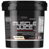 Гейнер Ultimate nutrition Muscle Juice Revolution, печенье-крем, 5040 г