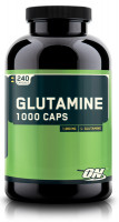 Глютамин Optimum nutrition Glutamine caps 240 капс.