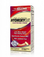 Жиросжигатель Muscletech Hydroxycut Pro Clinical Caffeine Free 72 капл.