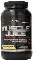 Гейнер Ultimate nutrition Muscle Juice Revolution, печенье-крем, 2120 г