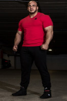 Футболка Gorilla wear Essential V-Neck Red 90511