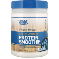 Протеин Optimum Nutrition Greek Yogurt, Protein Smoothie, черника, 462 г