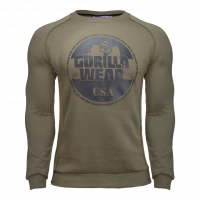 "Свитер для бодибилдинга Gorilla Wear ""BLOOMINGTON"" Sweater, хаки"