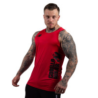 "Майка для бодибилдинга Gorilla Wear ""Rockford"" Tank Top, красная"