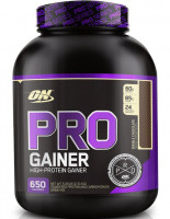 Гейнер Optimum nutrition Pro Complex Gainer, двойной шоколад, 2310 г